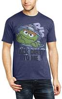 Sesame Street Men's 235.Talk Dirty to Me Crew Neck Short Sleeve T-Shirt