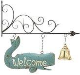 Benzara Deco 79 87985 Metal Wall Welcome Decorative Sign