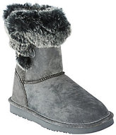 Lamo As Is Water Resistant Suede Boots w/ Faux Fur - Sable
