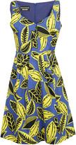 Moschino Leaf Printed Dress