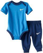 "Nike Baby Boy Just Do It"" Bodysuit & Pants Set"