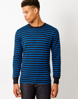 G Star G-Star Below Jumper Aril Knit Blue