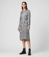 AllSaints Anya Plume Dress