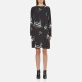 Samsoe & Samsoe Women's Boise Long Sleeve Dress Hana Dark