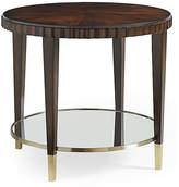 Caracole Glimpse Side Table - Mahogany