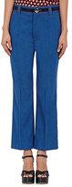 Marc Jacobs Women's Bowie Crop Trousers-BLUE