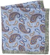 Saks Fifth Avenue Paisley-Print Silk Pocket Square