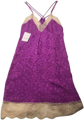 Zadig & Voltaire Spring Summer 2019 Purple Silk Dresses