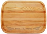 The Well Appointed House Large Personalized Rope Cutting Board