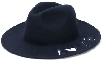 Paul Smith Cut-Out Fedora Hat
