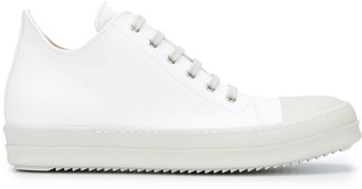 Rick Owens Contrasting Toecap Sneakers