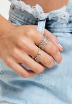 Missguided Ring Set