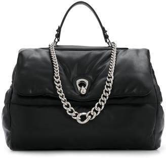 Ermanno Scervino quilted tote bag