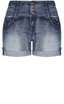 City Chic Hi Waist Short Short