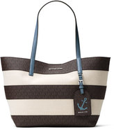 MICHAEL Michael Kors Illustrations Large Striped Tote Bag