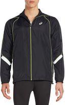 Asics Men's Reflective Track Jacket - Black, Size xx-large