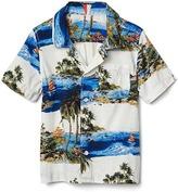 Gap Tropic island short sleeve shirt