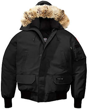 Canada Goose Men's Chilliwack Fur Hood Down Bomber