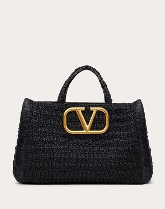 Valentino In.it Raffia Handbag Women Multicolored Viscose 100% OneSize