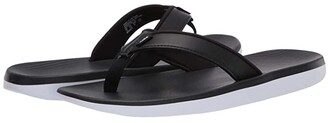 Nike Bella Kai Thong Sandal (Black/Metallic Silver/White) Women's Sandals