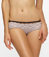 Unveiled Argentella Floral Lace & Tulle Hipster Panty