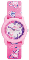Timex Kids Kidz Girl's Tutu Ballerina Fabric Strap Watch