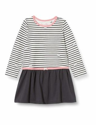 Sanetta Baby Girls' Kleid Ivory Playwear Dress
