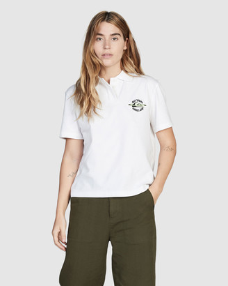 Quiksilver Womens Short Sleeve Polo Shirt