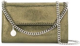 Stella McCartney small Falabella metallic crossbody bag