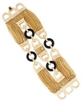 Rachel Zoe Three-Row Chain Bracelet