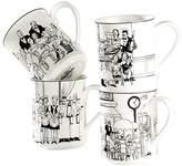 Noritake Le Restaurant Mug (Set of 4)