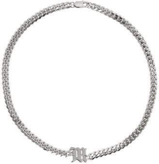 Misbhv Silver Chain The M Necklace