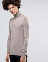 Minimum Thad Merino Roll Neck Sweater