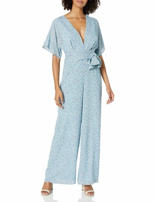 Finders Keepers findersKEEPERS Women's Plunging V Neck Jumpsuit