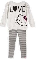 Hello Kitty Little Girls' 2-Pc. Sweater & Leggings Set