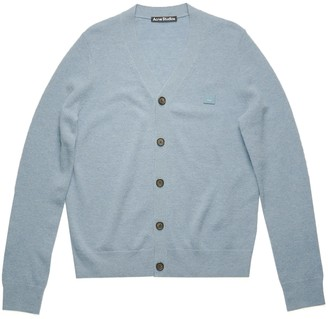 Acne Studios Light Blue Wool Cardigan