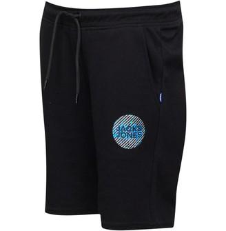 Jack and Jones Boys Junior Sweat Shorts Black