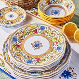 Sur La Table Floreale 12-Piece Melamine Dinnerware Set with 4 Bonus Appetizer Plates