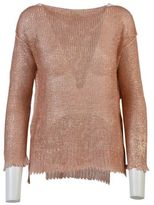 Nude Knitted Linen Sweater