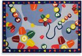 Fun Rugs Tootsie Roll Dots Accent Rug