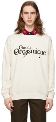 Gucci Off-White Orgasmique Sweatshirt