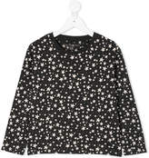 Stella McCartney stars allover longsleeved T-shirt