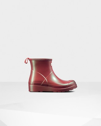 Hunter Women's Original Play Short Nebula Rain Boots