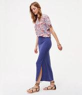 LOFT Seamed Maxi Skirt