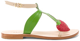CoRNETTI Strawberry Sandal in Green. - size 35 (also in 36,37,38,39)