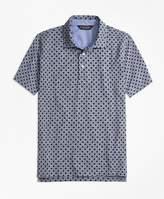 Brooks Brothers Slim Fit Indigo Print Polo Shirt