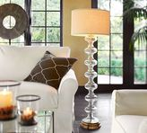 Pottery Barn Jasmine Glass Floor Lamp Base