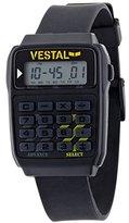 Vestal Unisex DAT003 Datamat Black Calculator Watch
