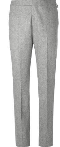 0854bede8b6083 Mens Grey Flannel Trousers - ShopStyle Canada
