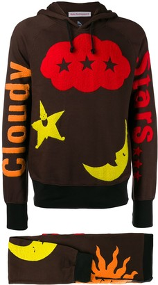 Walter Van Beirendonck Pre Owned 2004/05's Cloudy Stars two-piece tracksuit